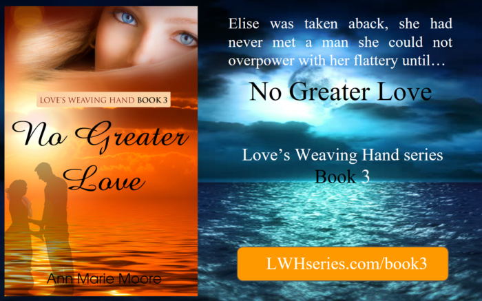 Upcoming Kindle book - No Greater Love