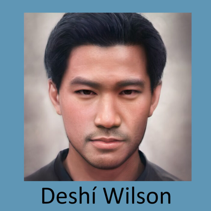 Deshí Wilson Character in the Love's Weaving Hand Series Book 3 No Greater Love